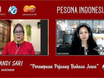 Perempuan Pejuang Bahasa Jawa - Arkandi Sari (Pemred Majalah Panjebar Semangat) - Pesona Indonesia